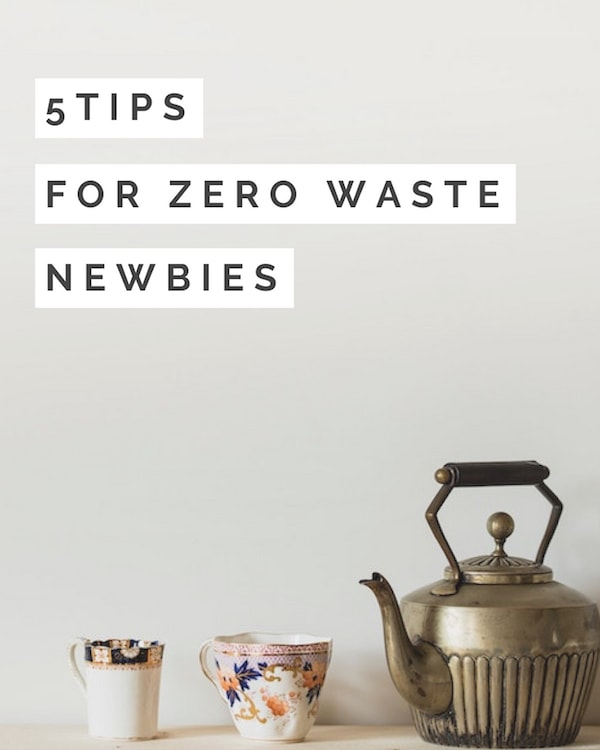 5 tips for zero waste newbies