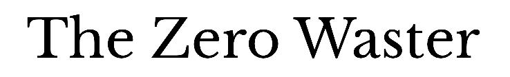 The Zero Waster